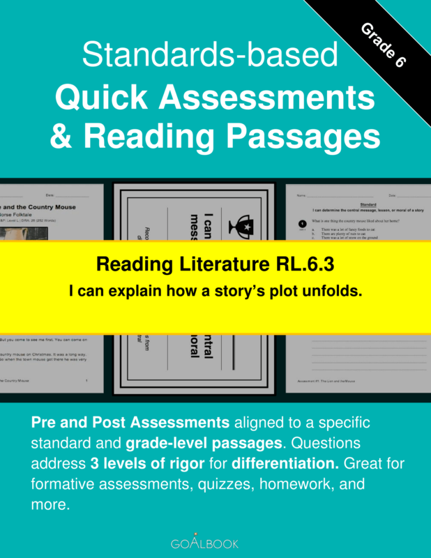 Rl63 character and plot development reading literature 6th reading quick assessment rl63 2 pooptronica