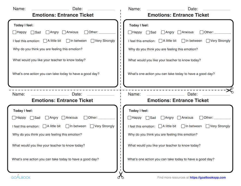 Emotions Entrance Ticket (6-12)