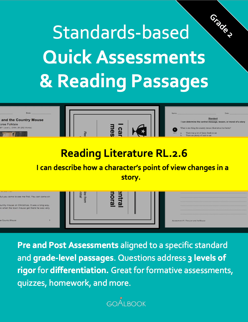 RL.2.6 Compare Different Points of View | Reading: Literature | 2nd ...